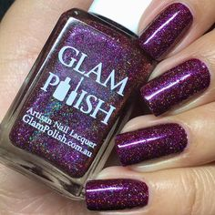 I have tried to post my review and pictures on my blog for the past couple of days and the edits keep deleting!!!  so for now I'll post what k can here. This is releasing tomorrow!!! @glampolish_ 'Suspicious Minds' part of the King Collection  by minipolishh