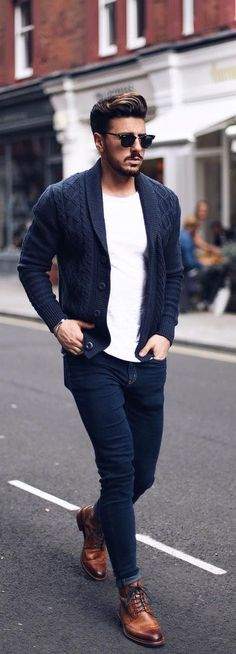 58 Ideas For Moda Hombre Casual Stylish Men Jeans Look Casual Hombre, Outfits Hombre Casual, Smart Casual Outfit, Men Casual, Man Style Casual, Casual Styles, Trendy Style, Mode Masculine, Coat Outfit
