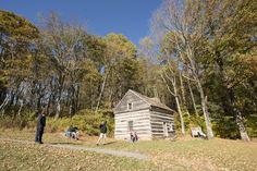 Fall | Peaks of Otter Lodge | Blue Ridge Parkway | VA | Polly Woods Ordinary