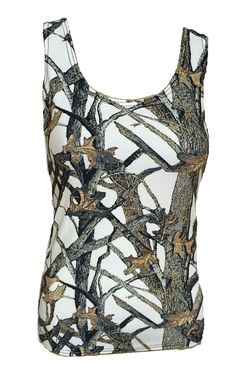 13077fefa40 Southern Sisters Designs - White Camo Tank Top - Semi Fitted - Sizes Up To  3x