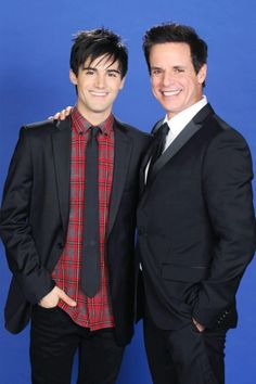 The Young and the Restless Photos: Max Ehrich and Christian Jules LeBlanc on CBS.com