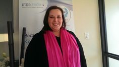@ptpaKathy supports #pinkshirtday #PTPAPink