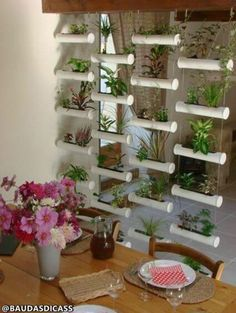50 diy garden wood projects for your home on a budget these brilliant vertical garden ideas will leave you green with envy Diy Garden, Garden Projects, Garden Art, Wood Projects, Home And Garden, Garden Planters, Diy Planters, Outdoor Projects, Pvc Pipe Garden Ideas