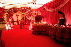 Beverly Hills Hotel Moulin Rouge Themed Party, Mindy Weiss Party Planning