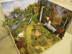 """Творим с детьми: """"Деревенька осенью!"""" - Ярмарка Мастеров - ручная работа, handmade"""