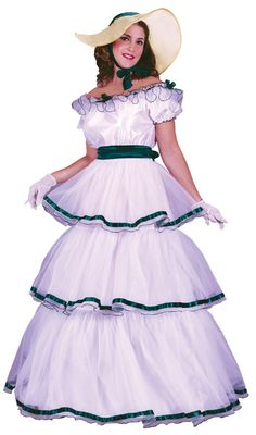 Southern Belle Adult Women's Costume