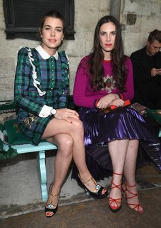 Pin for Later: 12 Things You Should Know About Monaco Royal Tatiana Santo Domingo She Went to School With Charlotte Casiraghi The Monaco royal and Tatiana attended the Lycée Jeanne d'Arc Saint-Aspais near Paris. Charlotte introduced Tatiana to her brother Andrea.