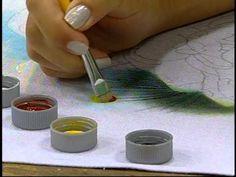 Programa Arte Brasil - 21/01/14 - Eliana Rolim - Pintura em Tecido