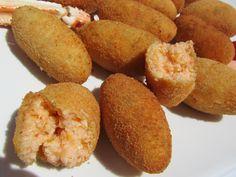 Croquetas de Cangrejo Blog con recetas sencillas, rápidas y económicas de Thermomix realizadas por Ana Sevilla THERMOMIX