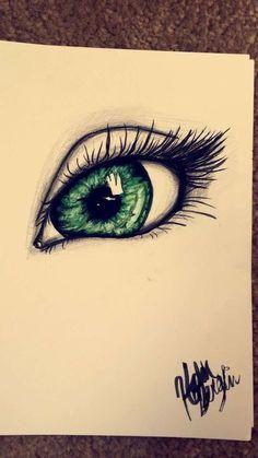 Amazing Learn To Draw Eyes Ideas. Astounding Learn To Draw Eyes Ideas. Pencil Art Drawings, Art Drawings Sketches, Cool Drawings, Eye Drawings, Realistic Eye Drawing, Drawing Eyes, Crying Eye Drawing, Eye Sketch, Beautiful Drawings