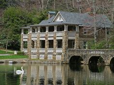 Lake Susan, which is part of Montreat College/Conference Center and is located near Asheville, North Carolina