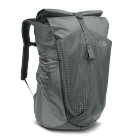 Whether you& traveling on two wheels or two feet, this capacity pack is perfect for any foul-weather commute with a convenient roll top, a padded laptop sleeve and a reflective water-resistant exterior. Motorcycle Saddlebags, Green Backpacks, Diy Backpack, Rugged Look, Bare Essentials, Camping Gear, Motorcycle Camping, Cloth Bags, Laptop Sleeves
