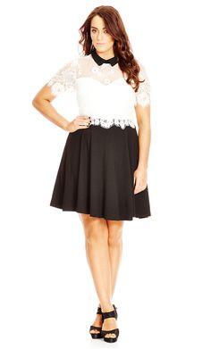 Shop Women's Plus Size  Women's Plus Size Sleeved Dress | City Chic USA