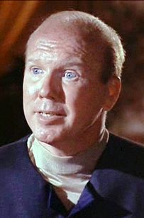 """John Fiedler in the Star Trek episode """"Wolf in the Fold."""" But he also was the voice of Piglet, so every time he speaks, I think of Piglet. Star Wars, Star Trek Tos, John Fiedler, Star Trek Episodes, People Of Interest, Voice Actor, Three Kids, Famous People, Real People"""