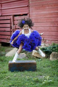 Oopsy Daisy Baby Purple Pettiskirt