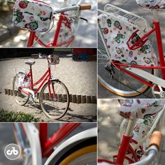 strawberry pie Bike Bag, Strawberry Pie, Bicycle, My Style, Bags, Accessories, Strawberry Shortcake Cakes, Bicycle Kick, Handbags