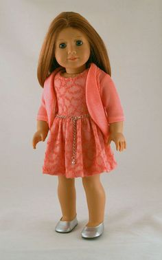 American Girl Doll Clothes Spring Dress in by Forever18Inches