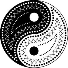 Yin Yang Coloring Page By Welshpixie On Deviantart Some