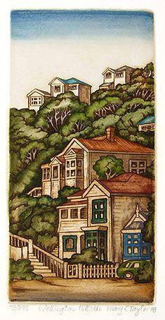 New Zealand prints at Art by the sea, fine art gallery in Devonport, Auckland, New Zealand Wake Island, Graphic Illustration, Illustrations, New Zealand Art, Pitcairn Islands, Rare Birds, Easter Island, Coloured Pencils, Hawaiian Islands
