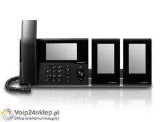 Telefon przewodowy VoIP innovaphone IP232 - czarny #voip24sklep.pl