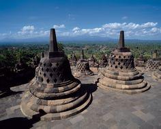 ボロブドゥール遺跡 - ボロブドゥール遺跡 (Borobudur - Indonesia)