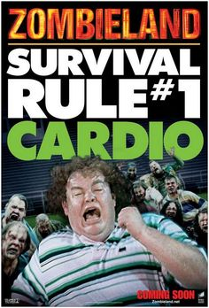 cardio - be prepared for the zombie invasion
