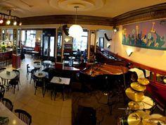 Cafeterías originales en Madrid