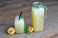 Grilled+Lemonade+/+Limonade+mit+gegrillten+Zitronen