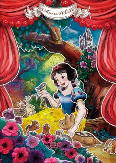 3Dポストカード ペーパーシアター 白雪姫 | ディズニーステーショナリー | 手帳(ダイアリー)のダイゴー | ダイゴー株式会社