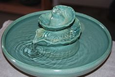 Ceramic Cat Fountain  Handmade Foodsafe   Water by CatFountains, $168.00
