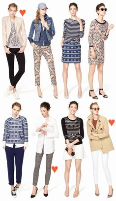 Über Chic for Cheap: Inspired: J.Crew Looks We Love {January}