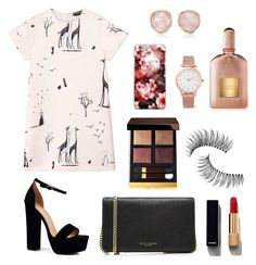 """""""shirtdress"""" by candynena228 ❤ liked on Polyvore featuring Rochas, Boohoo, Marc Jacobs, Chanel, Tom Ford, Trish McEvoy, Larsson & Jennings, Monica Vinader and shirtdress"""