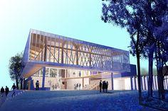 Writers Theatre | Architect Magazine | Studio Gang Architects, Glencoe, Illinois, Cultural
