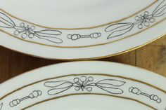 GDA France Limoges Art Nouveau Art Deco Botanical by meggyleves