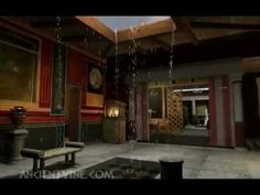 En este vídeo podemos ver como era una típica casa romana.