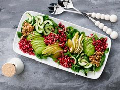 Chili, Vegan Recepies, Salad Recipes, Healthy Recipes, Healthy Food, Food Porn, Pear Salad, Good Food, Yummy Food