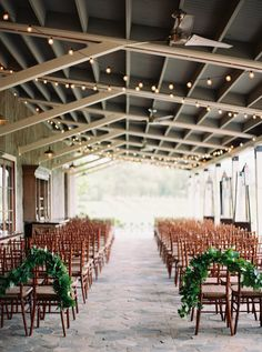 Church/Ceremony Decor does not need to be extravagant to make a statement. This is a beautiful use of foliage that adds so much to the atmosphere and doesn't break the bank!