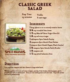 Classic #Greek #Salad
