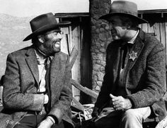 Henry Fonda and James Stewart...two alltime favorites who were friends in real life.