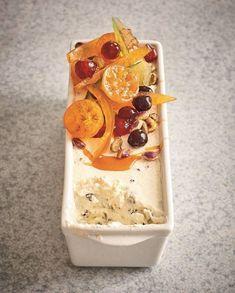 Grand Marnier, Ice Cream Deserts, Ice Cream Recipes, Food Network, Nougat Torte, Nuss Nougat Creme, Creme Dessert, Frozen Yoghurt, Vegan Ice Cream