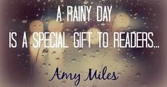 Rainy day quotes in this post will make you love and look forward to rainy days. As Amy Miles said, a rainy day is a special gift to readers. I Love Books, Good Books, Books To Read, Reading Quotes, Book Quotes, Reading Books, Coffee Quotes, Rose Hill Designs, Rainy Day Quotes
