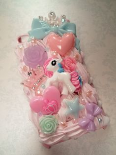 Pastel Princess My Little Pony Decoden Kawaii Deco by Lucifurious, $38.00