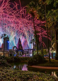 Fireworks at MGM. (I know, don't correct me. I will always call it MGM)
