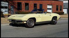 F186 1965 Chevrolet Corvette Convertible 327/365 HP, 4-Speed