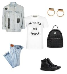 """""""Untitled #15"""" by annemarie-schuyt on Polyvore featuring Être Cécile, AG Adriano Goldschmied, Converse and Topshop"""