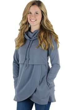 ad13c99574e Latched Mama Petal Front Nursing Hoodie Nursing Pajamas, Nursing Dress, Nursing  Tops, Nursing