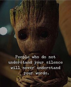 """Best👌Quote on Silence🙊in Relationship❤ & Life😍. """" People who Do Not Understand Your Silence Will Never Understand Your Words. Wisdom Quotes, True Quotes, Words Quotes, Best Quotes, Motivational Quotes, Inspirational Quotes, Scareface Quotes, Blind Quotes, Motivational Thoughts"""