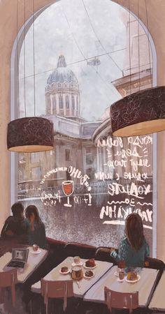 Просмотреть иллюстрацию Санкт Петербург из сообщества русскоязычных художников автора Varvara Sfinks в стилях: Книжная графика, нарисованная техниками: Компьютерная графика.