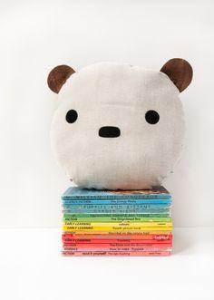 Children's Bear Cushion