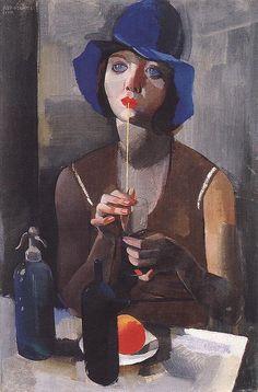 Vilmos Aba-Novák - Laura No. 1, 1929